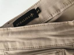 Título do anúncio: Calça de Sarja - Dudalina - Tamanho 44