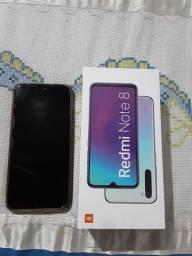 Redmi Note 8 semi novo com caixa original