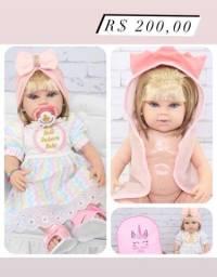 Título do anúncio: Façam já suas encomendas de boneca reborn para dia das crianças