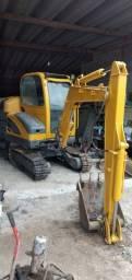Título do anúncio: escavadeira mini 2010