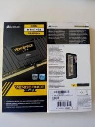 Título do anúncio: Memória RAM 8GB (2x4GB) 2400MHz DDR4