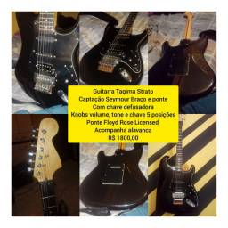 Tagima Stratocaster(séries antigas) fender squier ltd prs gibson condor cort