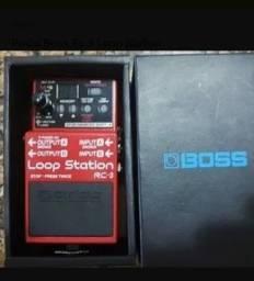Título do anúncio: Pedal de loop Boss Rc3