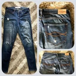Calça jeans Abercombrie & Fitch