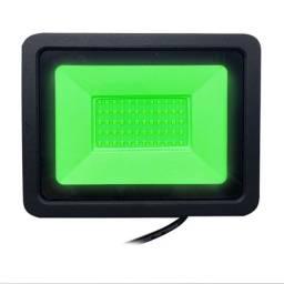 Título do anúncio: Refletor  de Led 20 whats Luz Verde