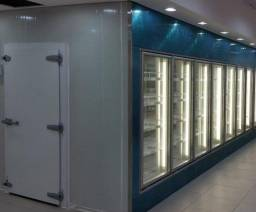 Walk-in Cooler sob medida.