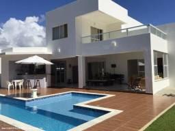 Título do anúncio: Casa em Condomínio para Venda em Camaçari, Busca Vida (Abrantes), 4 dormitórios, 4 suítes,