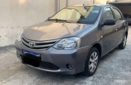 Título do anúncio: Toyota Etios sedan 1.5 xs 2013