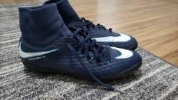 Chuteira Nike Hipervenon x 39 Azul
