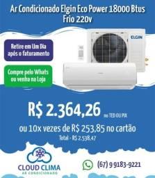 Título do anúncio: Ar Condicionado Elgin Eco Power 18mil Btus