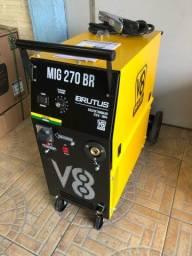 Título do anúncio: Máquina de solda mig 270 amperes Monofasica (garantia) cartão de crédito 10x