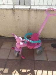 Título do anúncio: Triciclo Velotrol Infantil Rosa
