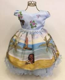 Vestido Infantil Novo