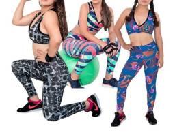 Promoção 3 Conjuntos Fitness por R$129,00