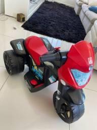 Mini Moto Elétrica Infantil Bandeirantes