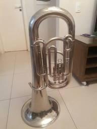 Título do anúncio: Bombardão (Tuba) Weril Cruzeiro (Relíquia)