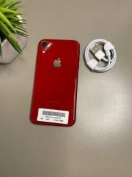 Título do anúncio: Iphone XR 64gb Vermelho
