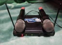 Título do anúncio: Vende-se microfone sem fio