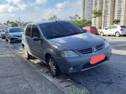 Título do anúncio: Renault Logan 2008 privilege hi-flex 1.6 16v cinza
