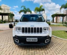 Título do anúncio: Jeep Renegade Limited 2017/17 Sem retoque, o mais completo