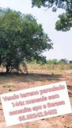 Vendo terreno parcelado ouro verde bairro formado