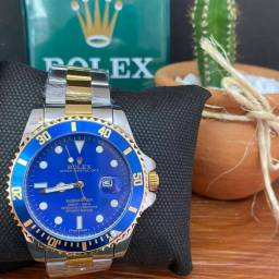 Título do anúncio: Promoção Rolex Silver Blue Exclusive