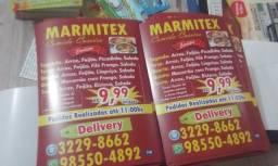 1000 Panfletos Folhetos 10x15cm 99,00 p/ 5000unds 189,00 cardápios Pizzarias