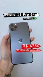 iPhone 11 Pro 64gb Vitrinni ( 90 dias de garantia )