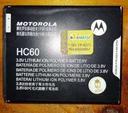 Bateria nova Moto C Plus