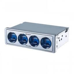 Título do anúncio: Voltimetro Booster BVU2000 VU Meter Azul
