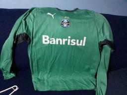 Título do anúncio: Treino Oficial Goleiro Grêmio Puma Original Tam. XG Zerada