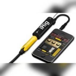 i Rig. Conecte instrumentos no celular