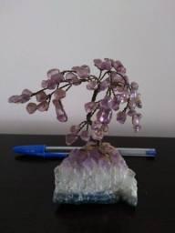mini árvore de pedra ametista