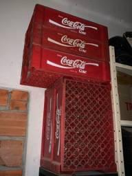 Caixa da Coca Cola retro para por em carro fusca decoração