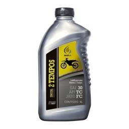 Título do anúncio: oleo 2 tempo mineral o 1 litro novo lacrado