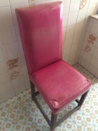 Título do anúncio: 6 Cadeiras retrô