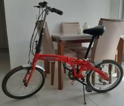 Bicicleta Dobrável Smart Pro 6 Marchas (câmbio Shimano) Aro 20