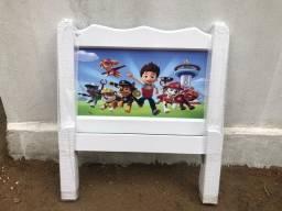 Cama Infantil em Madeira Maciça da Patrulha Canina #Entrega E Montagem Grátis