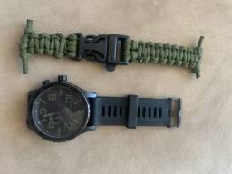 Relógio Nixon - Militar + paracord extra