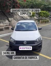Título do anúncio: Saveiro robust 1.6 2019 34mil km.