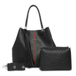 Bolsa Gucci grande + bolsa pequena <br>