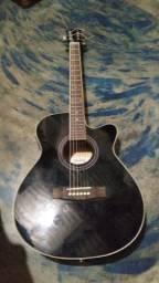 Violão preto marca Class guitar