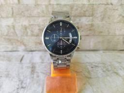 Título do anúncio: Relógio Nibosi Analógico e Data com Cronógrafos Funcionais