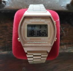 Relógio Original Semi-novo Casio Rose