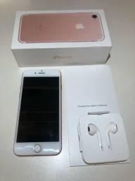 Título do anúncio: iPhone 7 32Gb rosa