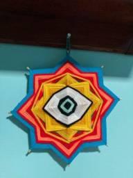 Mandala de lã