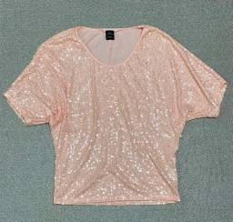 Blusa camisa de festa