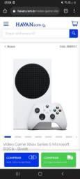 Título do anúncio: Xbox series S series aceito troca por ps4 mais volta .