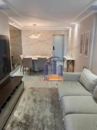 Apartamento no litoral com 3 dormitórios à venda, 104 m² por R$ 714.000 - Canto do Forte -
