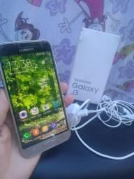 Vendo celular J3 bem novinho